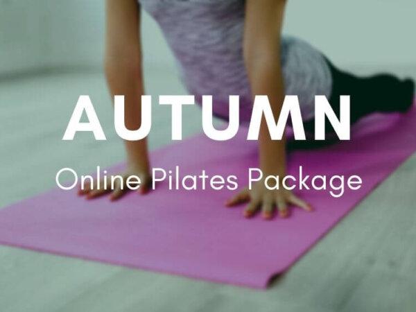 Autumn Online Pilates Pack