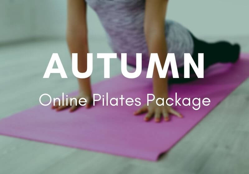 Autumn Online Pilates Pack