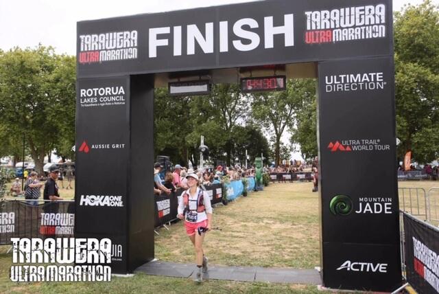 Tarawera Ultramarathon - Tamara